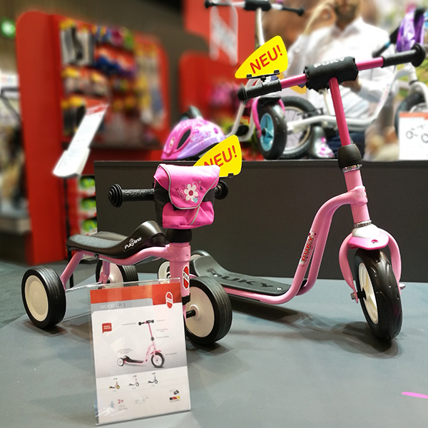 Самокат трехколесный Puky R1 для девочек